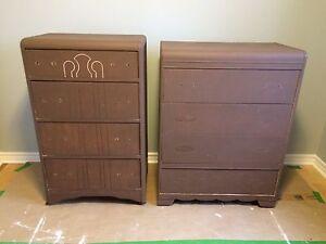 Solid wood dresser $50