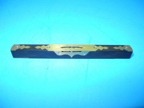 Paul Hamler miniature copy of Mathieson ebony & brass level