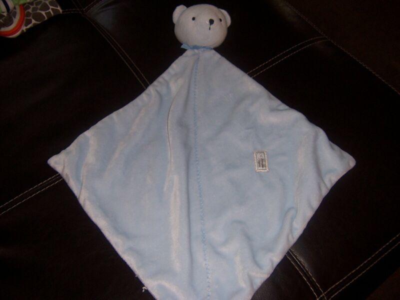 Precious First blue bear   Lovey Security Blanket Lovely