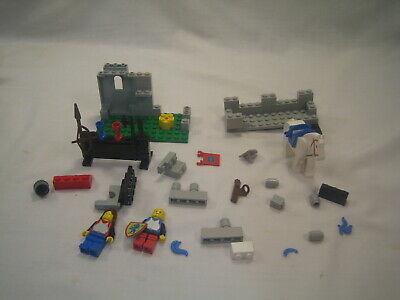 Lego Castle Set 6041 Armor Shop FOR PARTS Vintage Rare 1986