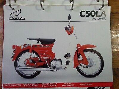 HONDA, Sales Brochure, Dealer RedBook 1982, C50LA Automatic, C50LA-C A4 colour
