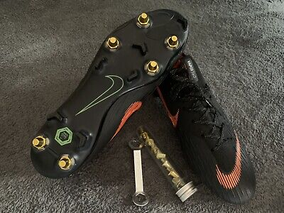 Nike Mercurial Vapor 360 XII SG, UK 8.5, Black / Orange