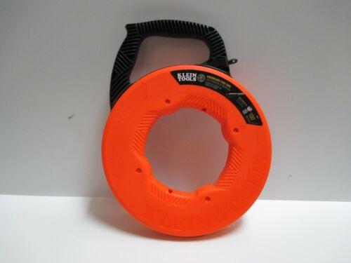 Klein Tools Non-Conductive Fiberglass Fish Tape 100-Ft brand new