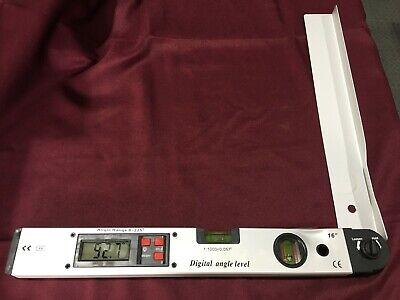 16 Digital Angle Meter Protractor Spirit Level Tool