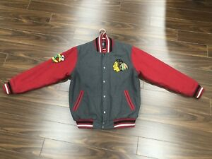 Chicago Blackhawks Wool Jacket