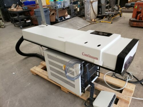 Continuum Laser Nd: YAG 2.0 Joules @ 2-40Ns With Controller 1 Billion Watts Max