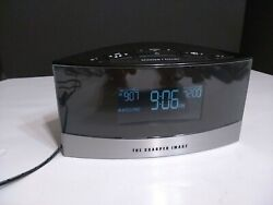 Sharper Image Alarm Clock Sound Soother Model EC-B100 White Noise 20 Sounds