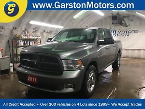 2011 Ram 1500 SPORT*CREW CAB*4x4*LEATHER*U CONNECT PHONE*SIDE ST