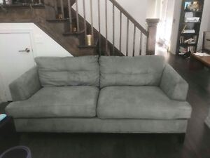 Modern comfy loveseat couch sofa for sale