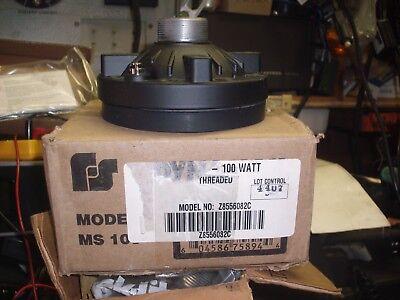 Federal Signal Ms-100 Siren Speaker 100 Watt Nos Coil Repair Kit