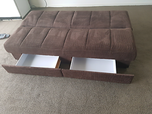 As New sofa bed with drawers Waterford West Logan Area Preview