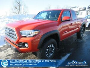 2017 Toyota Tacoma TRD Off Road Access Cab 4x4 - ONLY 12000 km!