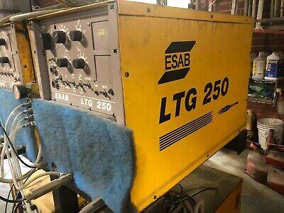 Esab Ltg 250 Tig Welder 3ph 250a 230v 440v 550v 5060hz Ltg250 Used Can Ship