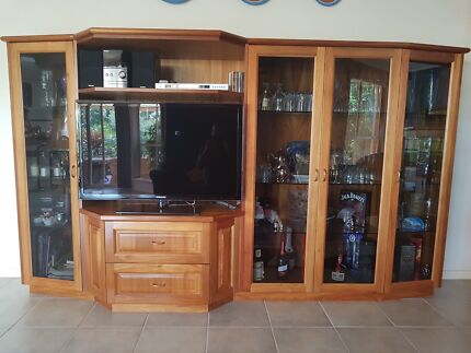 Solid timber storage unit. Custom made | Cabinets | Gumtree ...