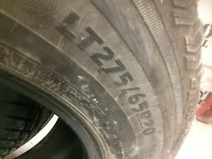 LT 275 65 r20 Wintercats!!!   10 ply.  90-95% tread Prince George British Columbia image 3