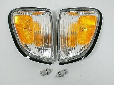 Toyota Tacoma 4wd Park - fits 98-00 Toyota Tacoma 4WD Park Side Marker Light PAIR 97-00 2WD w Pre-Runner