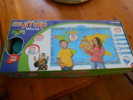 Leapfrog interactive world map includes tag reading system toys interactive talking world map poster gumiabroncs Gallery