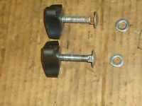 Flymo Quicksilver/sovereign/jcb/mcculloch Lawnmower Handle Fixing Bolts - mountfield - ebay.co.uk