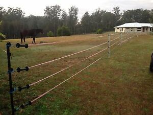 Full electric fence set up *used for Horse* Caboolture Area Preview