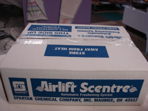 Spartan NABC 6 Cartridges and Batteries Fresh Scent Deodorizing Airlift Scentre