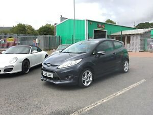 Ford Fiesta Zetec S TDCi 1.6 Diesel Repairable Salvage Accident Damaged