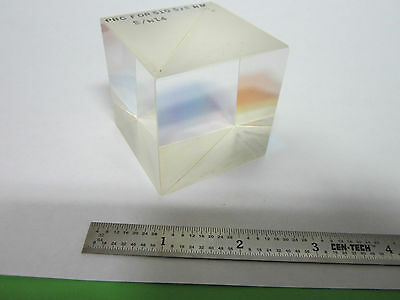 Optical Large Cube Beam Splitter Laser Optics Bin8c