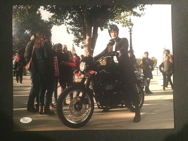Matt Smith Doctor Who Autographed Signed 11x14 Photo JSA COA #1