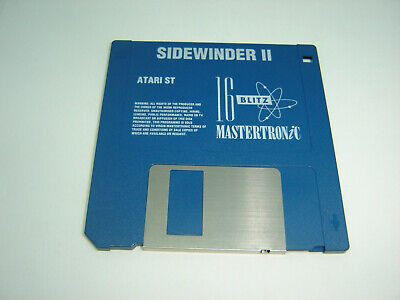 SIDEWINDER II 2 RARE ATARI ST GAME ON FLOPPY DISC