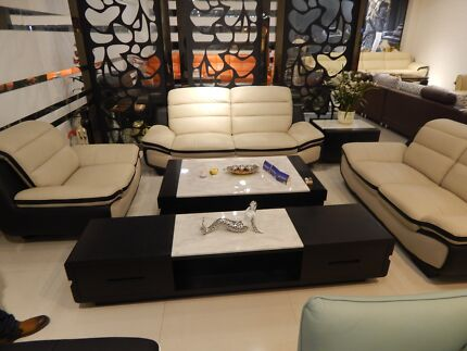 full lounge Leather set Middleton Grange Liverpool Area Preview