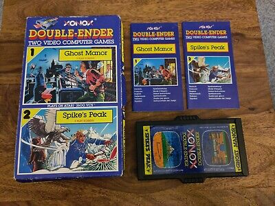 ATARI 2600 VCS - DOUBLE ENDER GHOST MANOR SPIKES PEAK BOXED