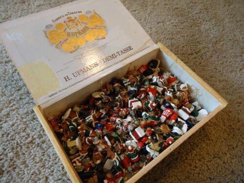 Huge Lot 200 +/- Miniature Christmas Ornaments