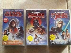 Star Wars - Original Trilogy VHS collection Mullaloo Joondalup Area Preview