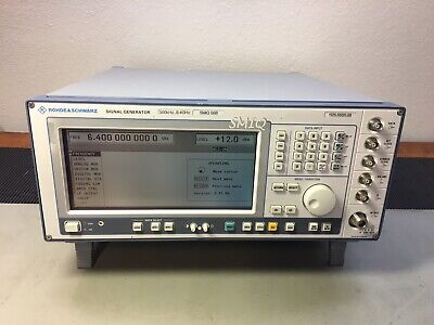 Rohde Schwarz Smiq06b Vector Signal Generator 6.4 Ghz Cald Loaded W Options
