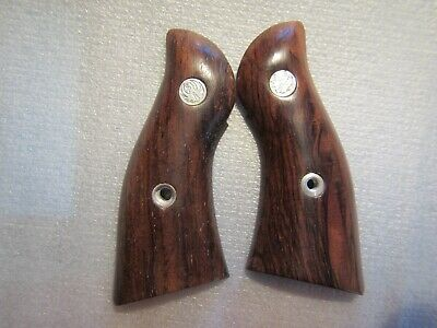 Wooden Grips to fit the Ruger Security Six w/serial #151 and above (by Lett -