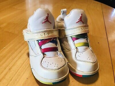 Toddler Nike Air Jordan 45 High Rare Color Basketball Shoe 8C 364759-106