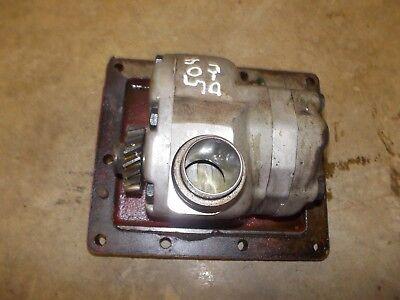 International 504 Diesel Utility Ih Tractor Working Hydraulic Pump Drive Gear