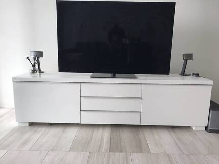TV Cabinet with storage for sale $150