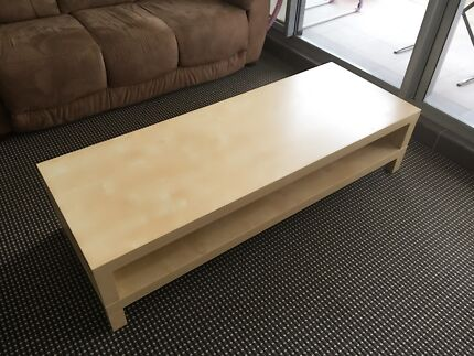 Wood tv unit/coffee table Rhodes Canada Bay Area Preview