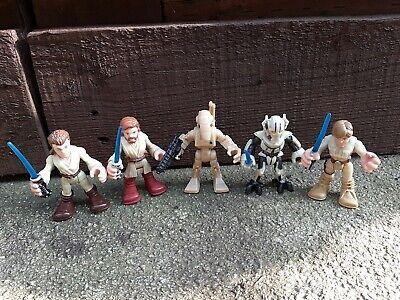 Star wars Galactic Heroes Figures Bundle Playskool Imaginext Grievious