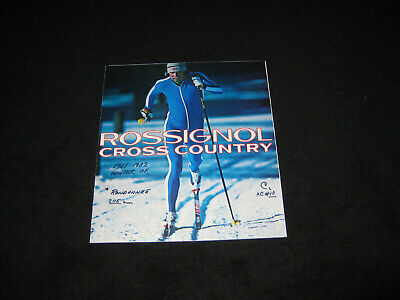 ROSSIGNOL  Cross Country 1981 1982 Ski Selection Guide Accessories Brochure ()