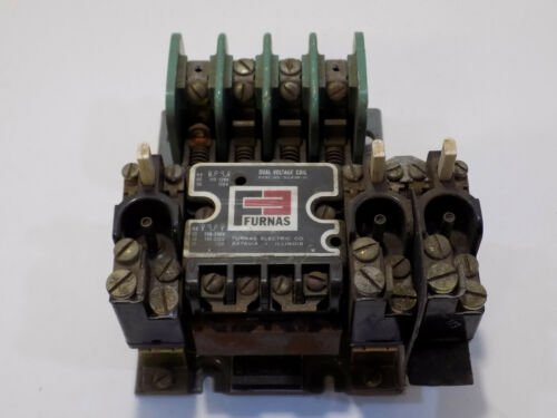 Furnas 14DA32AA11 USED 10Hp Dual Voltage Coil Motor Starter TESTED GOOD