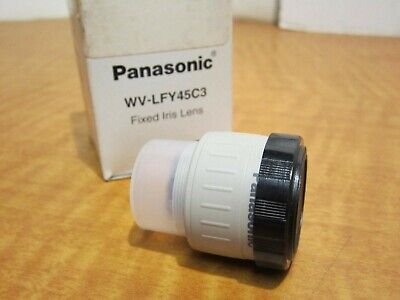 PANASONIC WV-LF4R5C3A Wide Angle Fixed Iris Lens 4.5 Focal Length For Indoor Use