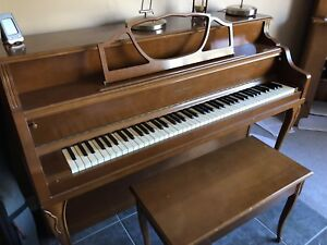 Solid modern piano, in good playable condition and in tune