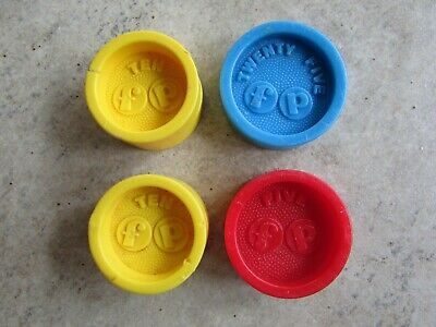 Vtg Fisher Price Cash Register Replacement Coins
