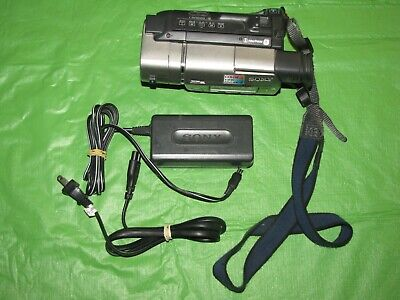 Sony Handycam CCD-TR517 Video 8mm Analog Camcorder - Record Transfer Play Video8