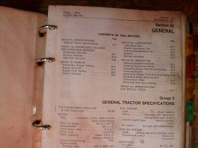 John Deere 4430 Tractor Shop Service Repair Technical Manual Original Tm-1057