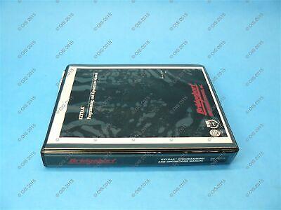 Bridgeport 11046148 Eztrak Cnc Programming Operating Manual