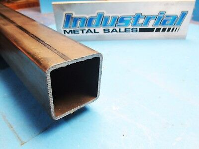 Steel Square Tube 2 X 2 X 60-long X .125 Wall--2 Steel Square Tube X .125