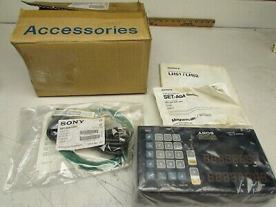 Sony Millman Lh51-2 Digital Readout 2-axis Controller New In Box Make Offer