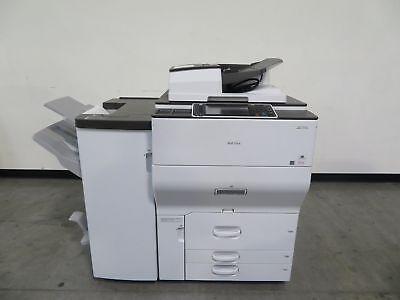 Ricoh Mpc6502 C6502 Color Copier Printer Scanner - 65 Ppm Color Only 18k Meter
